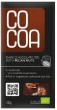 Afbeelding van Cocoa Reep pecannoten 70% pure chocolade 50gr