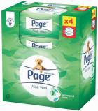 Afbeelding van Page Vochtig Toiletpapier Navul Skin Kind Aloe 4 pack, 152 stuks
