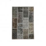 Afbeelding van Patchwork vloerkleed Vintage Grey 200x300cm Brinker carpets