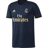 Afbeelding van Adidas Voetbalshirt Real Madrid uitshirt 19/20 voor kinderen donkerblauw