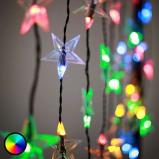 Afbeelding van Best Season lichtgordijn iSparkle via bluetooth regelbaar, kunststof, L: 200 cm, H: 80 cm