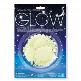 Afbeelding van 4M glow in the dark schapen 16 stuks