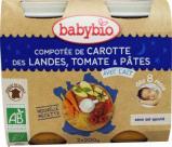 Afbeelding van Babybio Groenten Pasta 8 Maanden 200 gram, 2x200 gram