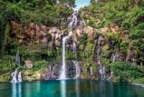 Afbeelding van Waterval 4 delig Vlies Fotobehang 368x248cm