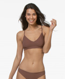 Bilde av Filippa K Soft Sport Bikini Top Cross back in Burnt Rose