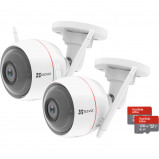 Afbeelding van EZVIZ Husky Air C3W + SD Kaart 128GB Duo Pack IP camera