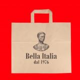Afbeelding van (CP) Snacktassen 32+18x26cm Bedrukt Bella Italia Assen