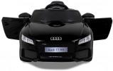 Afbeelding van Audi kinderauto TT RS zwart