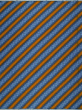 Imagine din Vlisco VL00034.131.04 Blue African print fabric Wax Hollandais Geometrical