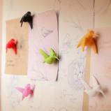 Afbeelding van Kolibrie magneten (set van 6) Qualy Design