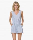 Image of American Vintage Dress Pasture Ficobay Sleeveless Linen
