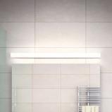 Afbeelding van Helestra helestra Lado LED spiegellamp, 90cm, voor badkamer, metaal, acryl, 18 W, energie efficiëntie: A+, B: 90 cm, H: 4 cm