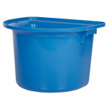 Bild av Harrys Horse Portable Hook Over Manger Bucket Blue