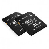 Afbeelding van Angelbird AVPRO SDXC UHS II V60 32GB geheugenkaart 2 stuks