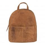 Afbeelding van Burkely About Ally Backpack Cognac 541429 Casual Rugtassen