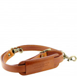 Image de Adjustable leather shoulder strap Honey