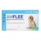 Bild av Amflee Flea Treatment Spot On 268mg Dog L 3 Pcs