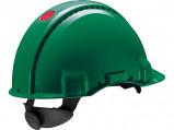 Afbeelding van 3M Peltor G3000 Veiligheidshelm met draaiknop Groen