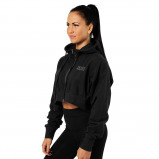 "Bilde av ""Better Bodies Woman Better Bodies Astoria Cropped Hood Black"""