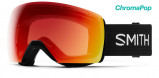 Afbeelding van Smith Skyline XL black Photochromic red mirror