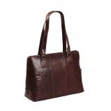 Imagem de Chesterfield Leather Shoulder Bag Brown Resa