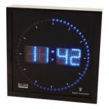 Afbeelding van Alpexe Balance He clock 27 Aluminium Led Wandklok