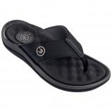 Afbeelding van Cartago Santorini Slippers Heren Grey Black EU 41
