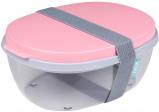 Afbeelding van Mepal Saladebox Ellipse Nordic roze Mepal Ellipse Artikelen