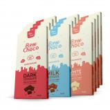 Imagen de 12x Chocolate de leche: Tableta de chocolate sin gluten y bajo en carbohidratos ( low carb ) / 50gr.