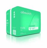 Afbeelding van Absorin Comfort t fit day maat l 15 stuks