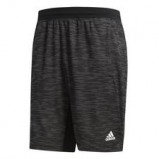 "Bild av ""4KRFT Sport Striped Heather Shorts Svart"""
