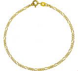Afbeelding van 14 karaat goud figaro kettingen 4003988