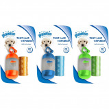 Bild av Pawise Poop Bags Dispenser with Refill 2x20pcs.