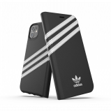 Afbeelding van adidas OR Booklet Case PU FW19/SS20 for iPhone 11 Pro Max black/white