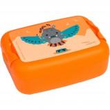 Afbeelding van Amuse broodtrommel Animal Carnival Hippo 1 liter oranje
