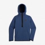 Image of Nike Sportswear Tech Fleece Bomber Older Kids' (Boys') Jacket Black