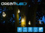 Afbeelding van Dreamled vintage verlichting 5 meter met 10 ledlampen