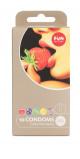 Abbildung von Aromatisierte Kondome 'Color Moments' 10er Packung in Latex