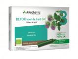 Afbeelding van arkofluids Detox voor de huid bio drinkampullen 10 Stuks