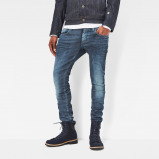 Image of 3301 Deconstructed Super Slim Jeans