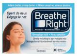 Afbeelding van Breathe Right Neuspleisters Gevoelige Huid 30 Stuks