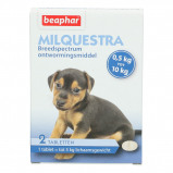 Abbildung von Beaphar Milquestra Wurmtablet kleine Hund/Welpe 0,5 10kg 2St
