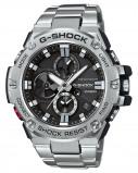 Afbeelding van Casio G Shock GST B100D 1AER steel Bluetooth Triple Connect herenhorloge horloge Zilverkleur