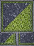 Imagem de Vlisco VL00006.259.04 Green African print fabric Wax Hollandais