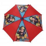 Afbeelding van Brandweerman Sam paraplu 62 cm blauw/rood