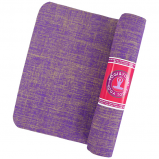 Afbeelding van Yogi & Yogini yogamat jute violet 1550gr