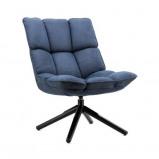 Afbeelding van fauteuil Daan blauw