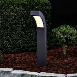 Afbeelding van 60 cm hoge LED sokkellamp Lennik, Lampenwelt.com, aluminium, kunststof, 4.2 W, energie efficiëntie: A+, B: 8.5 cm, H: