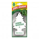 Afbeelding van Arbre Magique luchtverfrisser 12 x 7 cm Mental Glaciale wit