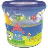 Afbeelding van CLICS Junior Drum 25 in 1 Constructie blokken